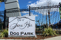 Dog Park Grand Opening gate