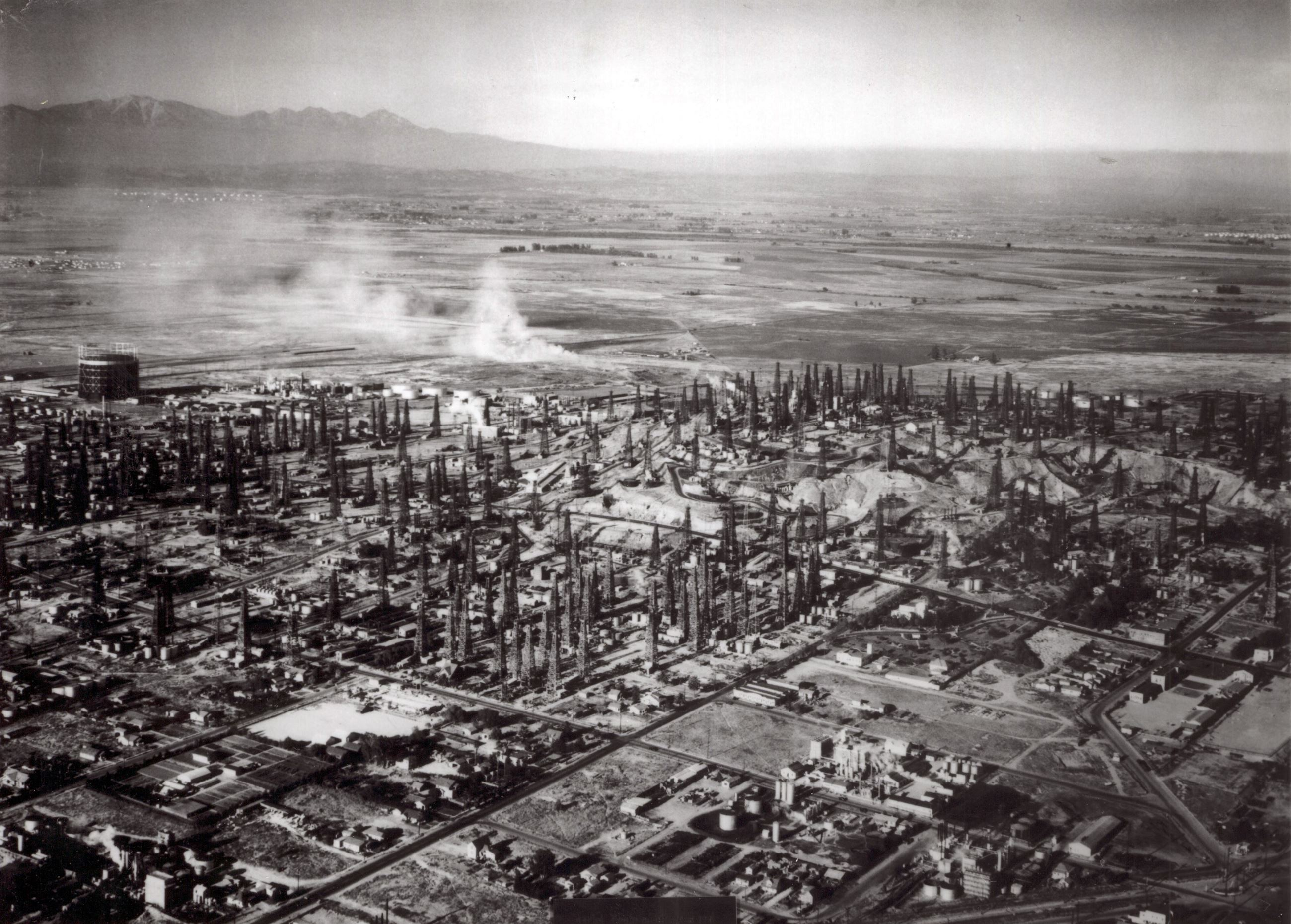 1920s Aerial View